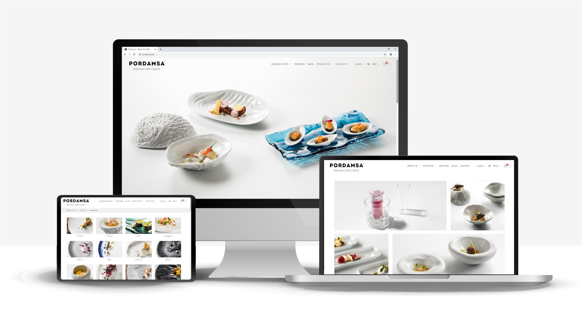 Nueva web de Pordamsa - Pordamsa